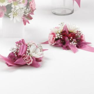 Two Corsages (Wedding-To-Go)